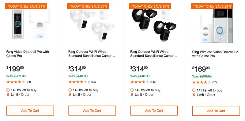 Ring Video Doorbell Sale   Home Depot