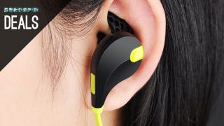 Illustration for article titled Exercise-Friendly Wireless Earbuds for $26, and More Deals