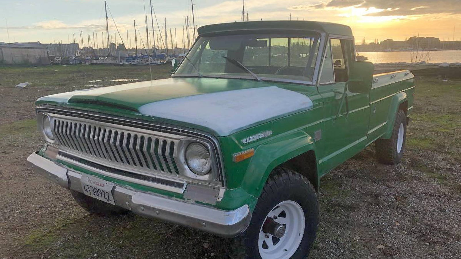 At 5 990 Could This 1973 Jeep J4000 Long Bed Be On Your