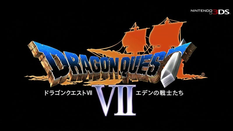 Illustration for article titled The 3DS Remake Of Dragon Quest VII Looks Pretty Solid So Far