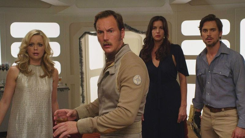Illustration for article titled Patrick Wilson is an interstellar Ron Burgundy
