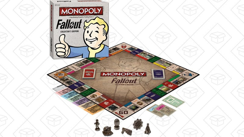 Fallout Monopoly, $25 | Game of Throne Monopoly, $36