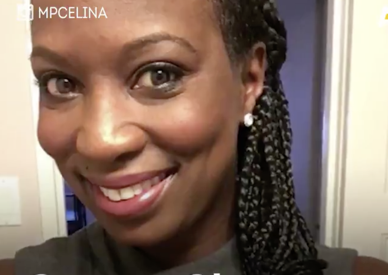 Canadian Member of Parliament Celina Caesar-Chavannes in her braids (AJ+ screenshot)