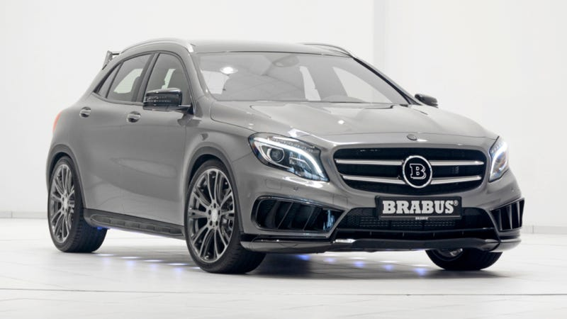Illustration for article titled Brabus Finally Made An SUV That Doesn't Look Like An Evil Appliance