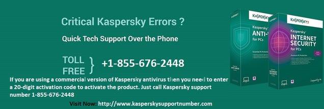 Illustration for article titled Kaspersky Support Number