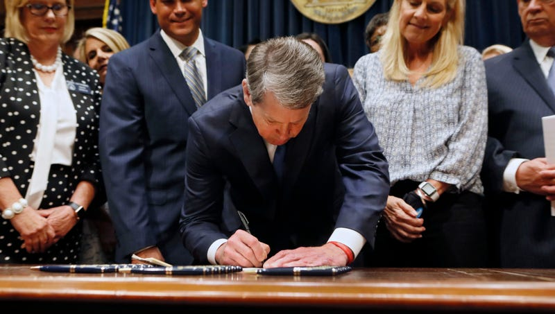 Illustration for article titled Georgia Governor Signs Bill Outlawing Abortion Except For Single 30-Second Window On Third Day Of Fourth Week Of Pregnancy
