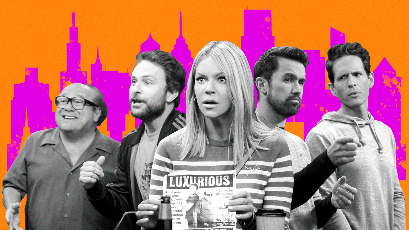 The Always Sunny team thinks the show can (and should) go on forever