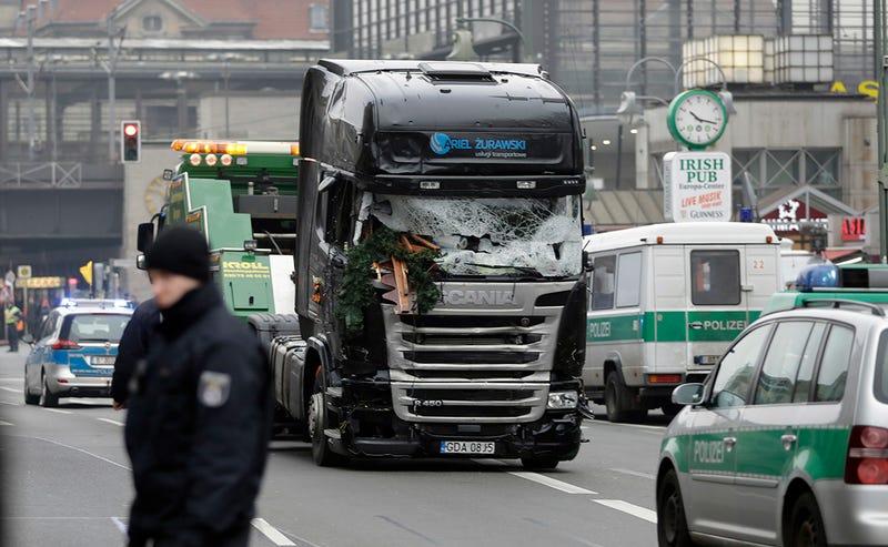 El sistema autónomo del camión que se usó en el atentado de Berlín evitó que muriera mucha más gente