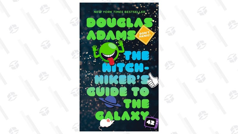 The Hitchhiker's Guide to the Galaxy [Kindle] | $3 | Amazon