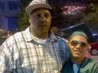 Terrill Thomas, left (family photo)