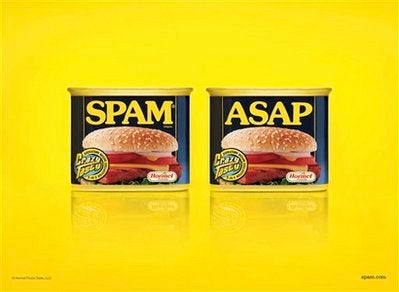 Illustration for article titled OMG, SPAM ASAP FTW!
