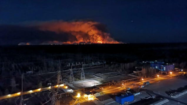 Two of Chernobyl s Largest Wildfires on Record Are Out