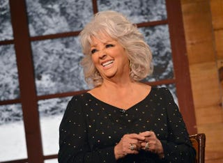 Paula Deen on the Fox & Friends Christmas Special in New York City, Dec. 6, 2012  Slaven Vlasic/Getty Images