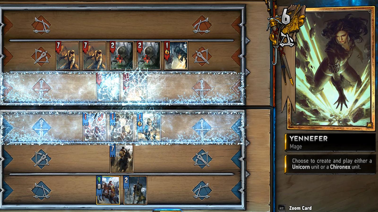 complete gwent deck
