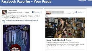 Illustration for article titled Facebook Favorite Saves Facebook Posts for Later