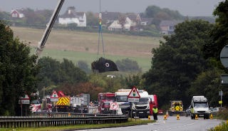 Illustration for article titled U.K. Restricts Vintage Jet Air Show Displays After Shoreham Crash