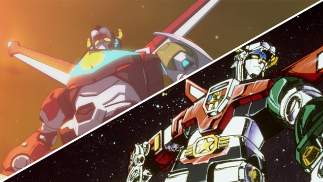 voltron legendary defender s creators look back at the original show and the timeless appeal of giant robot lions