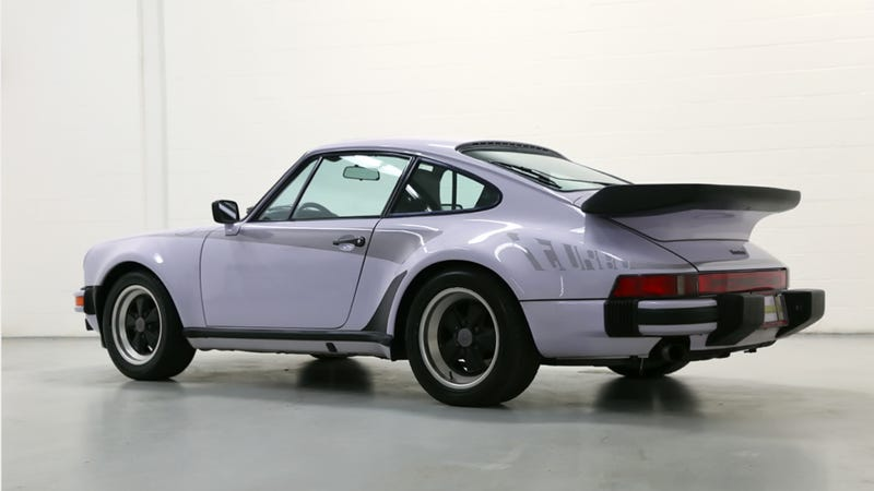 Illustration for article titled This Lilac 'Widowmaker' Porsche 911 Turbo Is Proof We Need More Pastel Cars