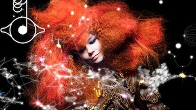 Illustration for article titled Björk announced album delay in most a Björk-y fashion
