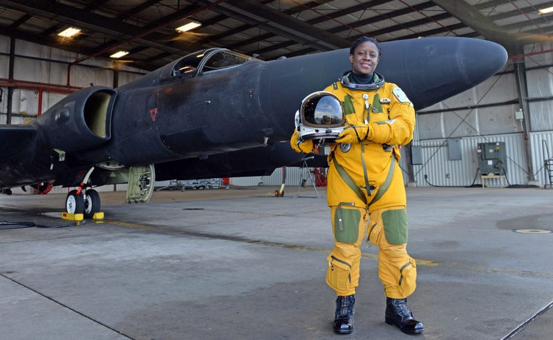 Illustration for article titled This Badass Is The First African American Female U-2 Dragon Lady Pilot