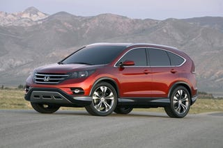 """Illustration for article titled 2012 Honda CR-V """"Concept"""" as boring as reality"""