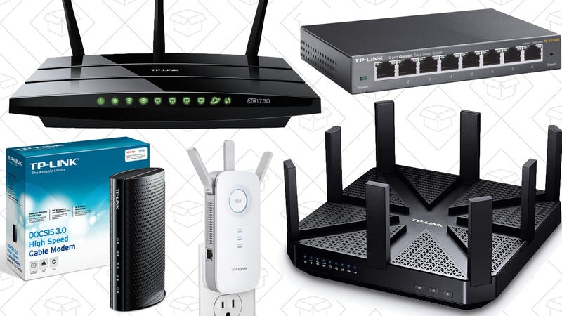 Extra 20% off TP-Link products. Promo code GDC20.