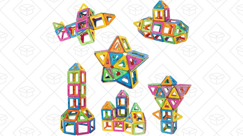 Newisland Magnetic Building Blocks, $17 with code MAGNETIE