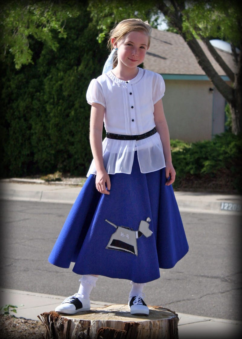 Illustration for article titled Ain't No Poodle Skirt Like a K-9 Poodle Skirt