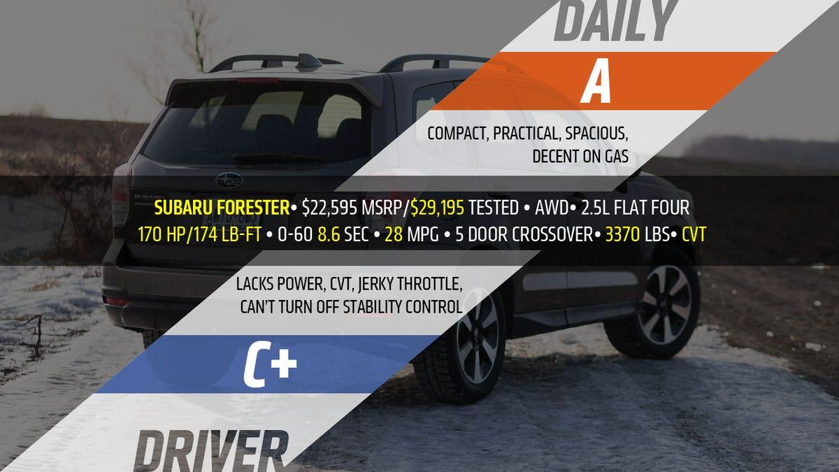 2017 Subaru Forester The Jalopnik Review 2 0 Boxer Engine Diagram