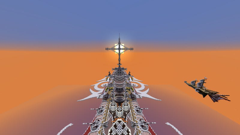 Illustration for article titled Huge Sci-Fi Battleships Are Made for Exploration