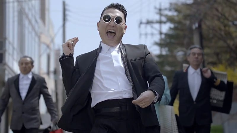 "Illustration for article titled Is PSY's ""Gentleman"" Video Just a Giant Commercial?"