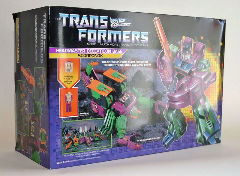 Original Transformers Boxed Collection Sold for $1,000,000