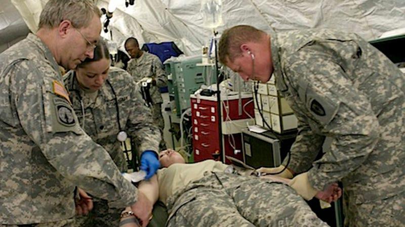 Illustration for article titled Battlefield ER: Combat Medicine Fights To Keep More Troops Alive
