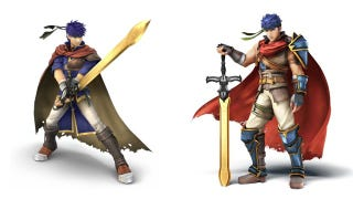 Illustration for article titled Ike Joins Super Smash Bros., Gets Compared to a Gorilla in Japan