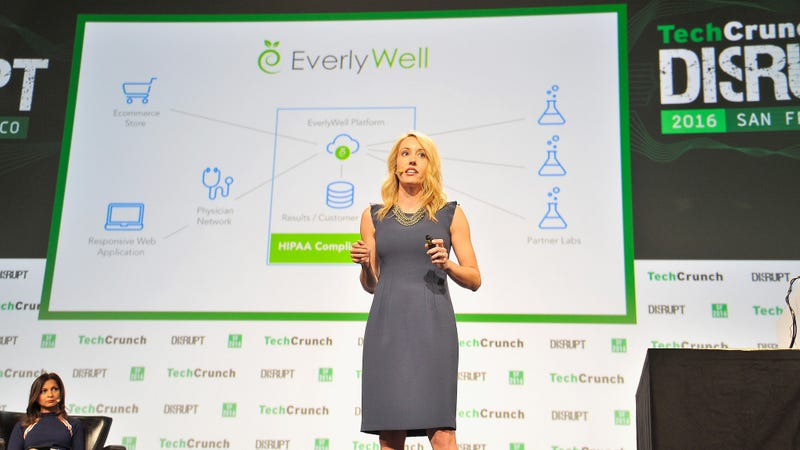 Sorry, EverlyWell. Photo by TechCrunch.