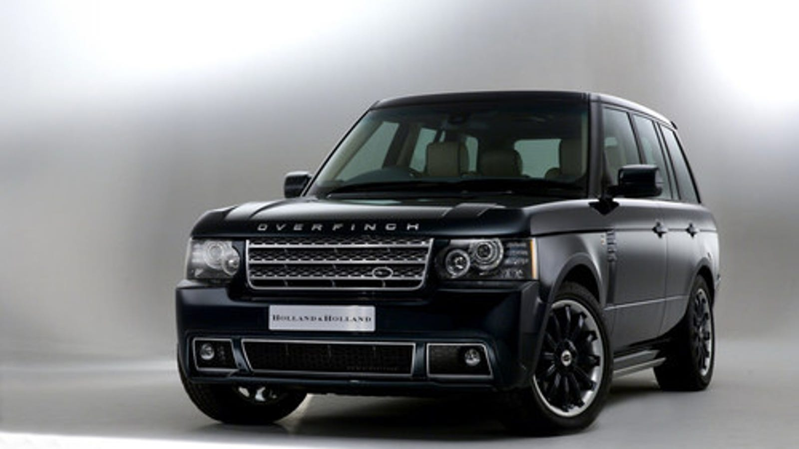 overfinch land rover by holland holland. Black Bedroom Furniture Sets. Home Design Ideas