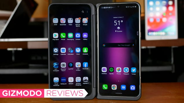 LG s Dual Screen V60 Is So Charming, I Don t Mind Its Flaws