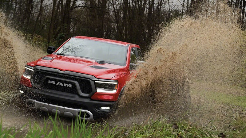 A Press Photo Of The 2019 Ram Rebel May Hint At An Upcoming Hellcat