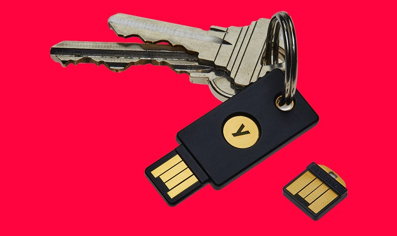 Illustration for article titled Google Employees' Secret to Never Getting Phished Is Using Physical Security Keys