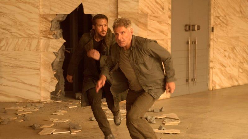 Ryan Gosling (left), Harrison Ford (Photo: Stephen Vaughan)