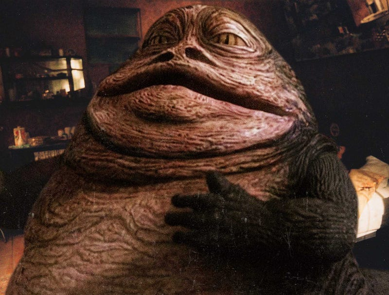 Illustration for article titled Leaked George Lucas Sex Tape Includes Digitally Inserted Footage Of Jabba The Hutt
