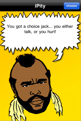 Illustration for article titled I Pity the Fool Who Didn't Know About Mr. T's App Store Contribution