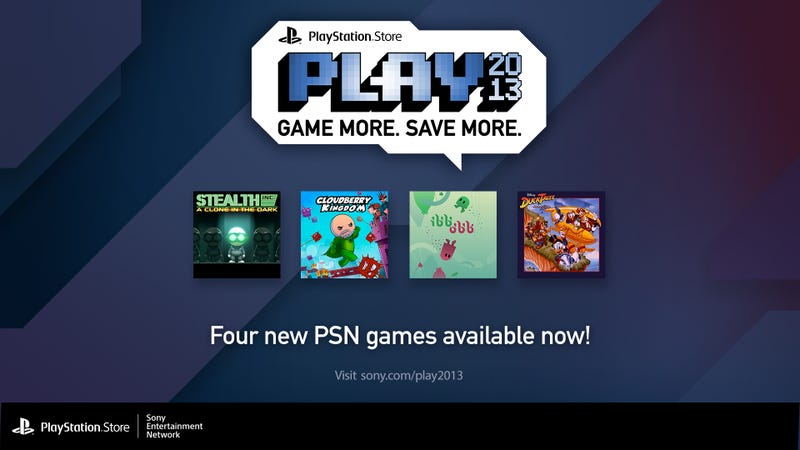 Illustration for article titled Plug Into Four Times the Fun With Sony's PSN PLAY 2013 Event