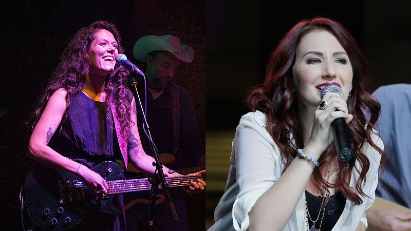 Country artists in support of the bill Lilly Hiatt (left) and Katie Armiger (right) / Image via Getty