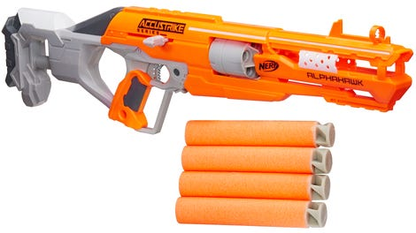 It's Nerf or nothing: