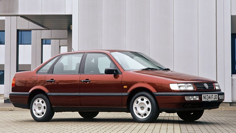 This is not the car, though it was a Passat. Photo credit VW