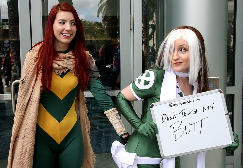Illustration for article titled These Cosplayers Are Sick Of Being Treated Like Pieces Of Meat