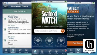 Illustration for article titled Seafood Watch for iPhone and Android Makes It Easy to Find and Choose Sustainable Seafood