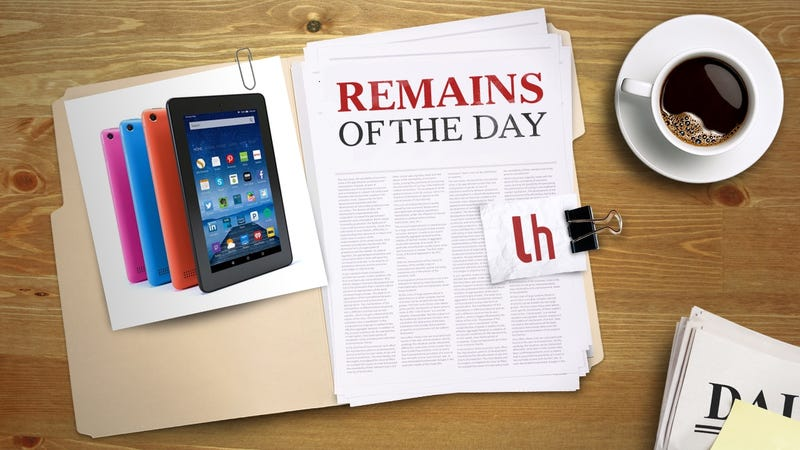Illustration for article titled Remains of the Day: You Can Now Use Alexa on Amazon Fire Tablets