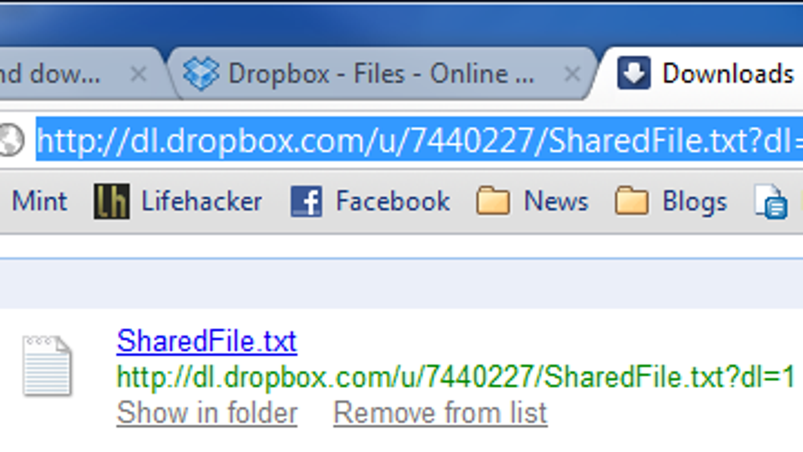 Make Dropbox Public Links Download Files Instead of Viewing